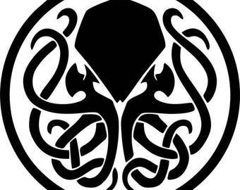 Cthulhu Deity H.P. Lovecraft Symbol