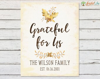 CABIN DECOR, Cabin Wall Art, Rustic Wall Art, Rustic Family Name Print, Rustic Decor, Housewarming Gift, Anniversary Gift, Wedding Gift