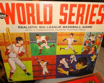 1965 World Series 3-D Molded Baseball Game by Lowe. All MINT - Pristine!