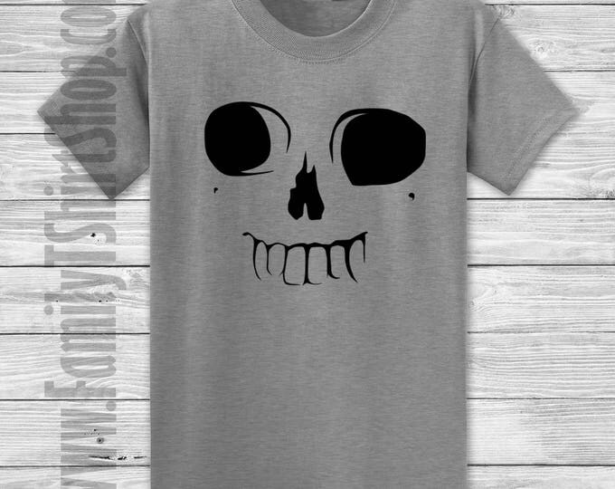 Skull Face With Teeth T-shirt