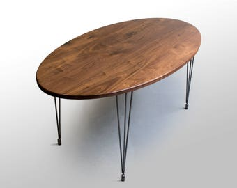 The Percy Kitchen Table: Walnut
