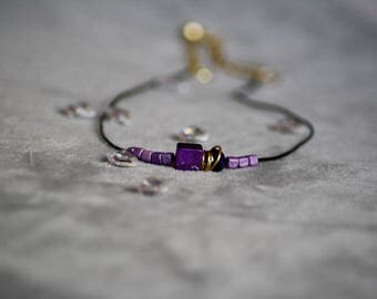 """Amethyst"" necklace"