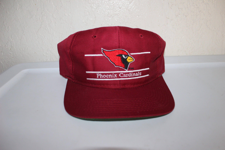 7ac499e65a235 Vintage 90 s Phoenix Cardinals Snapback by Annco
