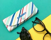 FUNDA PARA GAFAS -  Espampado Geometrico - Funda gafas de sol - Funda de colores
