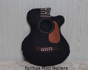 SALE guitar pillow acoustic guitar Kelthes Mini Guitars