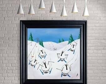 """Snow Patrol"" (Ready Framed) Original"