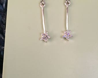 Fairy Godmother Wand (Shooting Star) Earrings