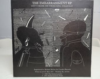 The Embarrassment, Self Titled Vinyl EP, First Press 1981 Release - Free Shipping