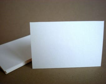 "75 flat cards - 2"" x 3"" , 2"" x 3.5"" - black, cream, kraft, white - business cards - wedding favors - flat place cards - party favor"
