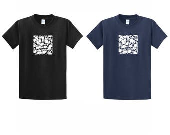 Skulls in a square T-Shirt