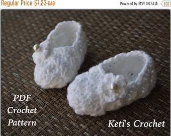 SALE Crochet Bootie Pattern: Crochet Lace Booties,Crochet Booties Pattern,Crochet Slippers Pattern,Crochet Pattern,Baby Shoes Crochet Patter