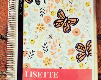 DRAGONFLIES+BUTTERFLIES: Personalized Create & Color Custom Journal, Creative Notebook, Blank Book, Handmade Diary, Note Page Style Options