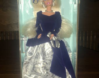 Vintage 1995 Winter Velvet BARBIE First In The Series Mint New In The Box