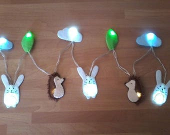 """Battery operated light string """"Picnic with friends"""""""
