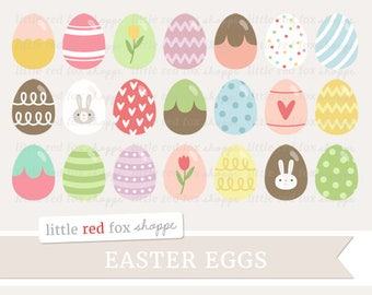 Easter Egg Clipart, Easter Clip Art, Egg Clipart, Easter Basket Clipart, Spring Clipart, Cute Digital Graphic Design Small Commercial Use