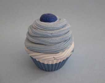 Blueberry - Artisan Soap - Cupcake Soap - Luxurious Soap - Bar Soap -