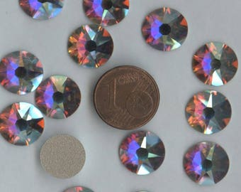 2088 ss48 ci *** 4 Swarovski Xirius Rose flat back SS48 (11,30mm) crystal ab f