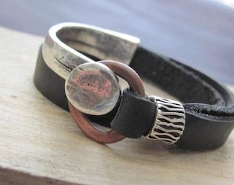 Leather Wrap Bracelet, Womens Wrap Bracelet, Leather Bracelet, Womens Leather Bracelet, Leather Wrap, Leather Bracelet for Womens, Wrap gift