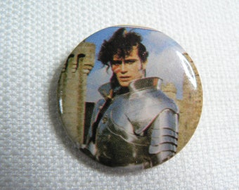 Vintage Early 1980s Adam Ant Suit of Armor - Ant Rap Video (1981) - Pin / Button / Badge