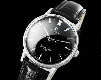 1970 Omega Seamaster 600 Vintage Mens Handwound Watch - Stainless Steel