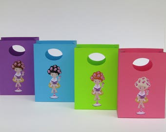 12 Spa Party Favor Bag - Spa Candy Bag -  Spa Treat Bag – Spa Gift Bag – Girls Birthday Party Favor Bag - Spa Party Favors