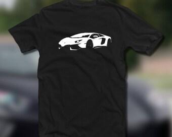 New Lamborghini Aventador Tee Shirt