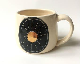 Sun energy ceramic mug