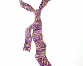 Hand Knit Tie