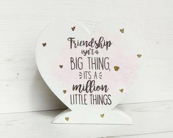 Gift for friend, best friend gift, friendship gift,