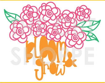 The Flower Garden cut file is a floral design that can be used for your scrapbooking and papercrafting projects.