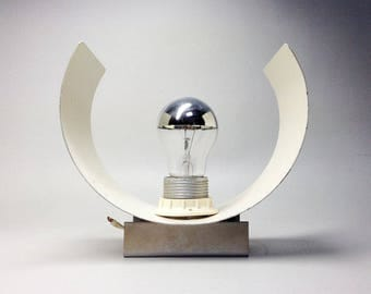70's French Vintage Aluminum Sconce