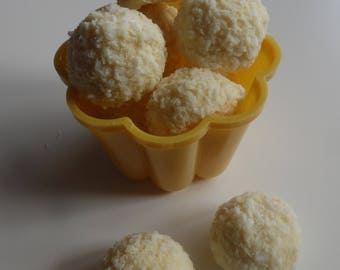 Coconut & Malibu Flavoured White Chocolate Truffles - Assorted Pack Sizes 6-12