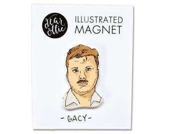 John Wayne Gacy - Individual Magnet