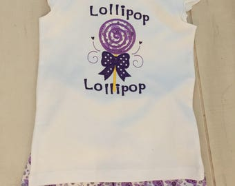 Lollipop Short Set