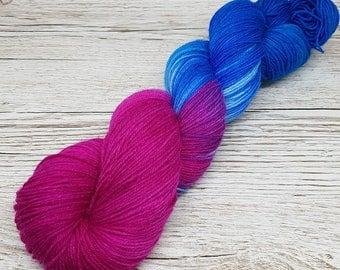 Hand-dyed sock yarn trekking 4 x 100 gr. Strand