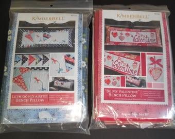 Kimberbell Valentine's Bench Pillow Kit