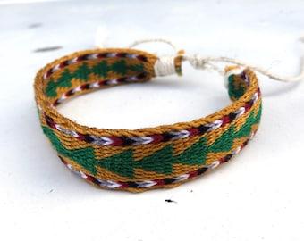 Braclet, woven colorful bracelet, weaving man arm band, cotton ethnic wrist band, boho bracalet, native jewelry, textile arm band, braclet