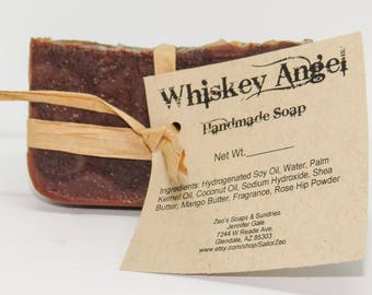 Whiskey Angel Handmade Cold Process Soap