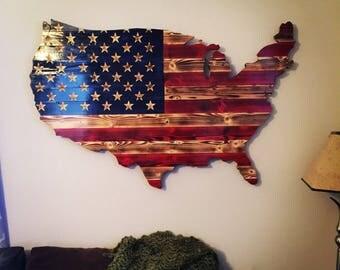FREE SHIP USA American Flag
