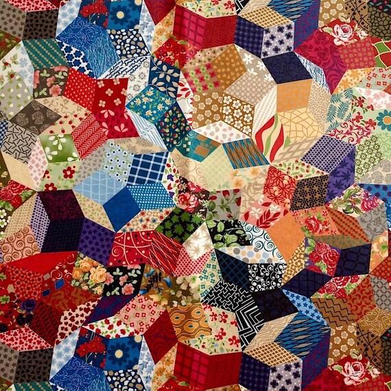Boho Gypsy Upholstery Fabric Home Decor Retro Vintage Fabric