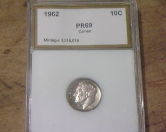 PR69 1962 Silver Dime