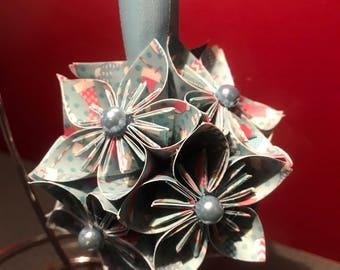 """Handmade """"Christmas Stockings"""" Kusudama Christmas Ornament"""