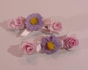 Hair flowers for girls
