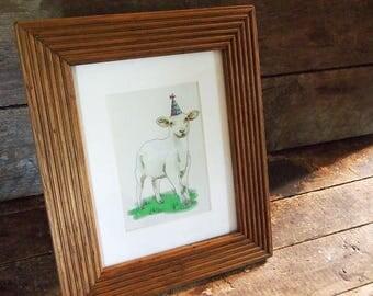 Barnwood photo frames – Natural