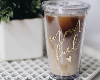 mom fuel tumbler. Mom fuel coffee tumbler. Mom gift. holiday gift for mom. Mom tumbler. Mom cup. Mom life cup.