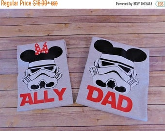 ON SALE Star wars shirt - Stormtrooper shirt - Darth Vader shirt -  Star wars Birthday shirt - Star wars Family shirts - Star Wars vacation