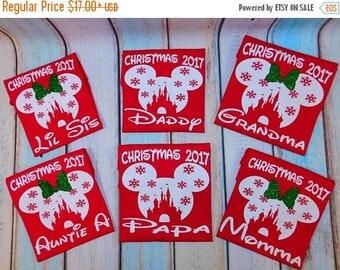 ON SALE Disney Christmas shirts,  Very Merry Christmas, Disney holiday, Disney castle, Family matching shirts, Family shirts, Disney vacatio