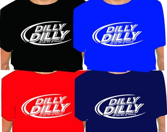 DILLY DILLY T Shirt To the Pit of Misery bud oval
