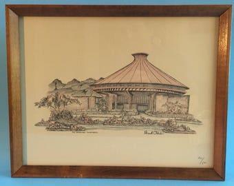 Stuart Oldale Vintage Framed Print 201/500 Vancouver Planetarium