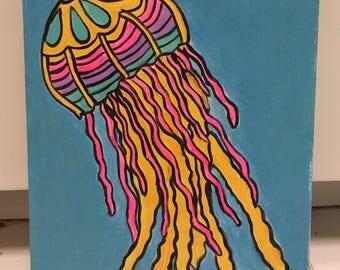 Rainbow moon jelly